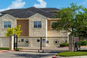 Apartments in Katy, TX - Gated Entry to Building
